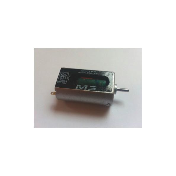 SRC RM0105 MOTOR M3 CAJA LARGA 17000 RPM A 12V +/-6gr UMS