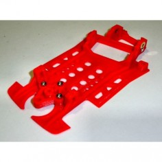 MUSTANG M-CBTR01 CHASIS 3D LANCIA 037 NINCO BLOCK AW TURINI SOFT LIGHT