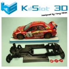 KILSLOT KS-RN18 CHASIS 3D LINEAL RACE 2018 SUBARU MSC