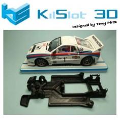 KILSLOT KS-RC38 CHASIS 3D LINEAL RACE 2018 LANCIA 037 NINCO