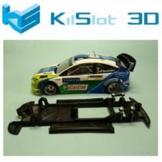 KILSLOT KS-CF4B CHASIS 3D LINEAL BLACK FORD FOCUS WRC NINCO