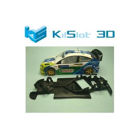 KILSLOT KS-AN38 CHASIS 3D ANGULAR RACE 2018 FORD FOCUS WRC NINCO