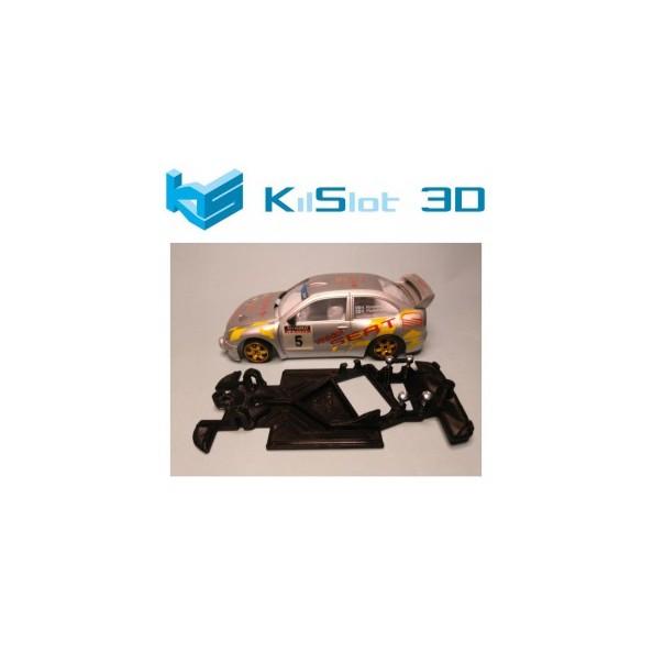 KILSLOT KS-AN28 CHASIS 3D ANGULAR RACE 2018 SEAT CORDOBA WRC NINCO