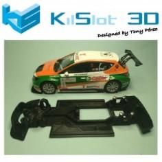 KILSLOT KS-VL1T CHASIS 3D LINEAL RACE SOFT SEAT LEON SCX (VELOCIDAD)