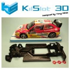 KILSLOT KS-RN28 CHASIS 3D LINEAL RACE 2018 CITROEN XSARA PRO SCX