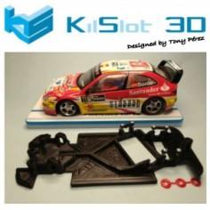 KILSLOT KS-AX18 CHASIS 3D ANGULAR RACE 2018 CITROEN XSARA PRO SCX