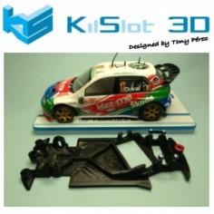 KILSLOT KS-AS38 CHASIS KILSLOT ANGULAR RACE 2018 SKODA FABIA WRC SCX