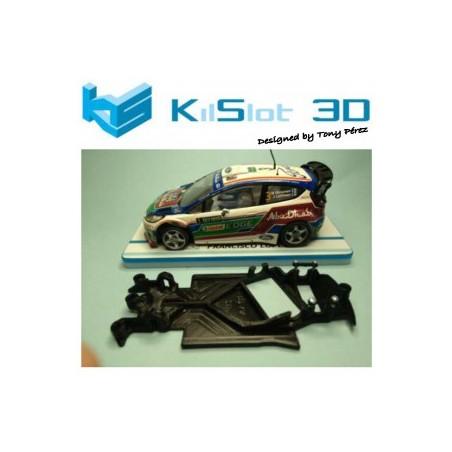 KILSLOT KS-AF18 CHASIS ANGULAR RACE 2018 FORD FIESTA WRC SCX