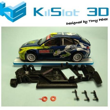 KILSLOT KS-AX58 CHASIS 3D ANGULAR RACE 2018 SUBARU N14 AVANT