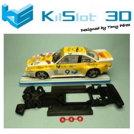 KILSLOT KS-RC18 CHASIS 3D LINEAL RACE 2018 OPEL MANTA 400 AVANT