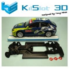 KILSLOT KS-RN58 CHASIS 3D LINEAL RACE SOFT 2018 SUBARU N14 AVANT
