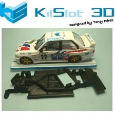 KILSLOT KS-AM38 CHASIS 3D ANGULAR RACE 2018 BMW M3 E30 FLY