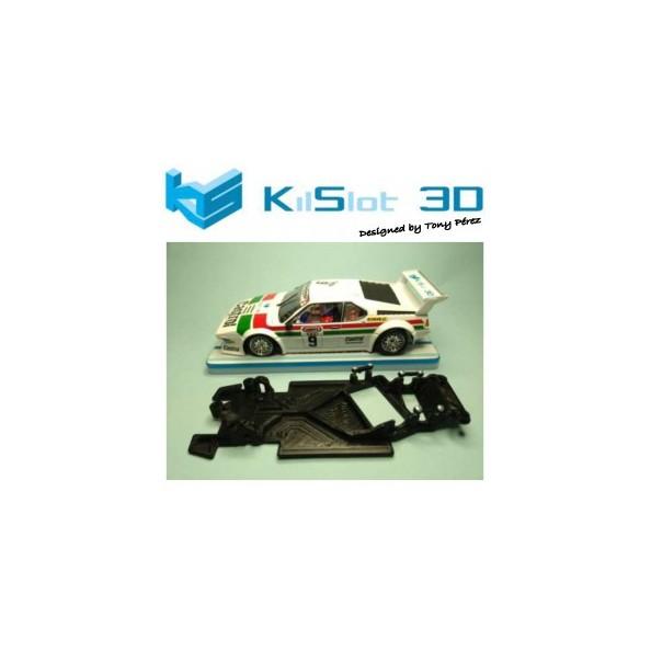 KILSLOT KS-AX98 CHASIS 3D ANGULAR RACE 2018 BMW M1 FLY