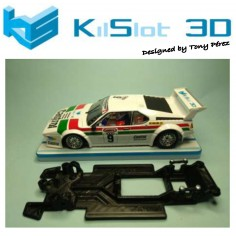 KILSLOT KS-RC48 CHASIS 3D LINEAL RACE 2018 BMW M1 FLY