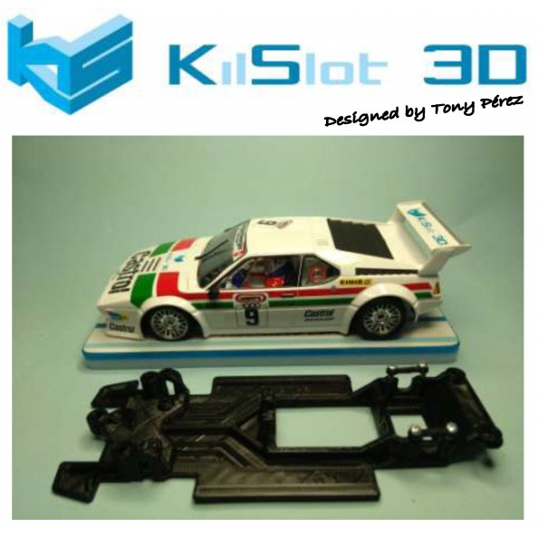 KILSLOT KS-RC48 CHASIS 3D LINEAL RACE 2018 BMW M1 FLY