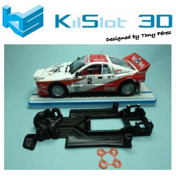 KILSLOT KS-RC58 CHASIS 3D LINEAL RACE 2018 LANCIA 037 FLY