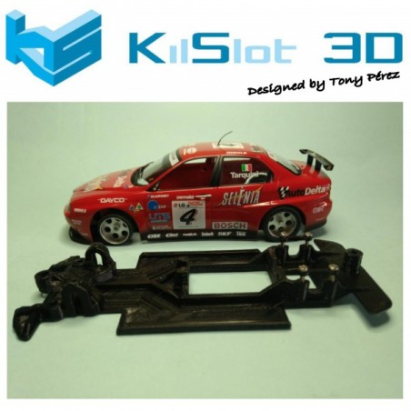KILSLOT KS-VA1T CHASIS 3D LINEAL RACE SOFT ALFA ROMEO 156 FLY (VELOCIDAD)