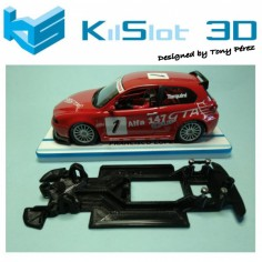 KILSLOT KS-VA2T CHASIS 3D LINEAL RACE SOFT ALFA ROMEO 147 FLY (VELOCIDAD)