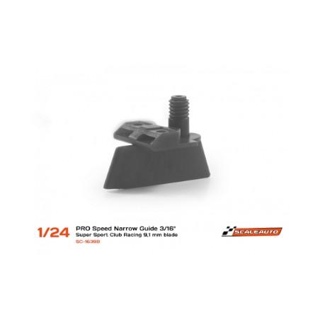 SCALEAUTO SC-1639B GUIA NARROW SUPER-SPORT LOW  PROFILE 3/16 (9,1mm PROFUNDIDAD) 1/24