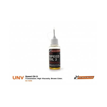 SCALEAUTO SC-5312 ACEITE SPEED OIL-3 TRANSMISIONES
