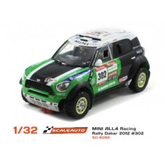 SCALEAUTO SC-6092 MINI ALL 4 RACING DAKAR 2012 Nº302