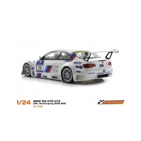 SCALEAUTO SC-7022 BMW M3 GTR GT2 24h NURBURGRING 2010 Nº25