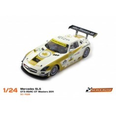 SCALEAUTO SC-7028 MERCEDES SLS GT3 ADAC GT MASTERS 2011