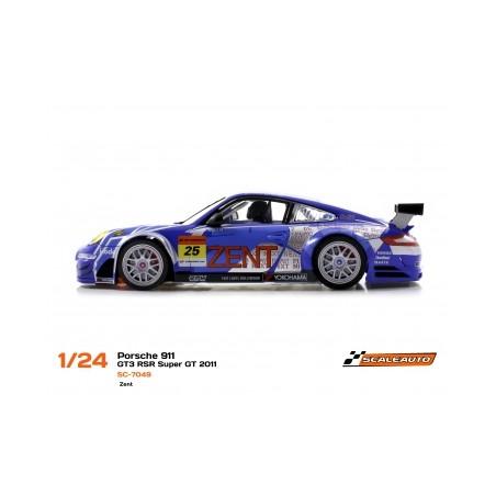 SCALEAUTO SC-7049 PORSCHE 911 GT3 RSR SUPER GT 2011 ZENT