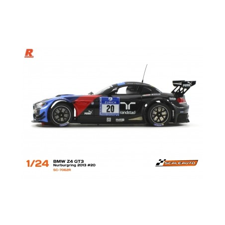SCALEAUTO SC-7062R BMW Z4 GT3 NURBURGRING 2013 Nº20