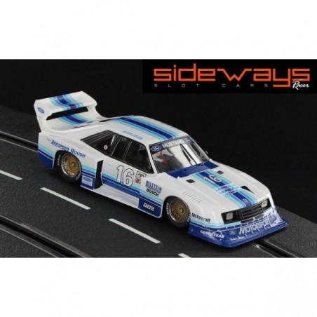 SIDEWAYS RC-SW0049 FORD MUSTANG TURBO G5 IMSA ROAD ATLANTA 1982