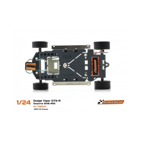 SCALEAUTO SC-7069HS SRT VIPER GTS-R DAYTONA 2016 Nº33 HS