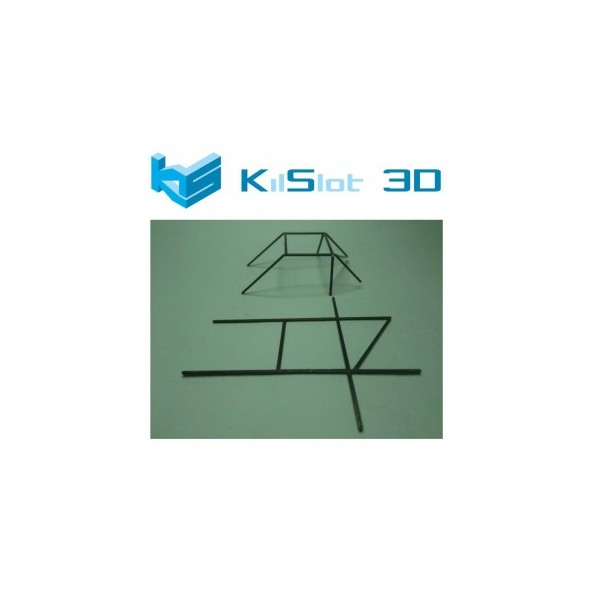 KILSLOT KS-PBA1 BARRAS ANTIVUELCO 1/24 ADAPTABLES A DIFERENTES CARROCERÍAS