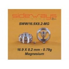SIDEWAYS RC-SWW1698MG LLANTAS MAGNESIO 16,9x8,2mm ALIGERADAS