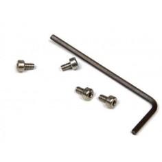MITOOS M303 SET 4 TORNILLOS ALLEN M2x4 + LLAVE ALLEN 1,5mm