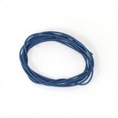 SCALEAUTO CABLE 0.9 mm AZUL SILICONADO