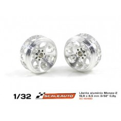 SCALEAUTO  SC-4048D25 llanta aluminio MONZA-2 16,9x8,5 mm