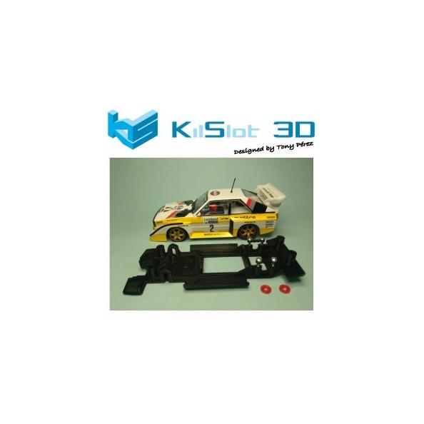 KILSLOT KS-BA2B CHASIS 3D LINEAL BLACK AUDI QUATTRO S1 SUPERSLOT