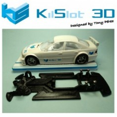 KILSLOT KS-VB1T CHASIS 3D LINEAL RACE SOFT BMW 320 FLY (VELOCIDAD)