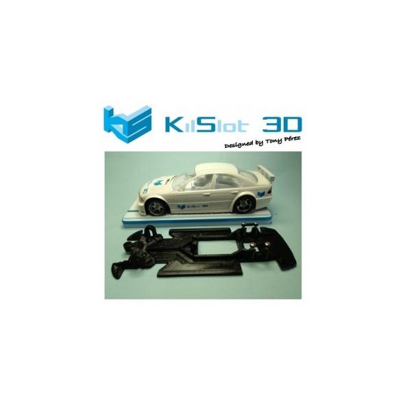 KILSLOT KS-VB1T CHASIS 3D LINEAL RACE SOFT BMW 320 FLY (VELOCIDAD)