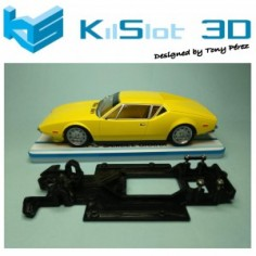 KILSLOT KS-RC68 CHASIS 3D LINEAL RACE 2018 DE TOMASO PANTERA MSC