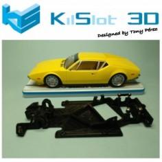 KILSLOT KS-AC68 CHASIS 3D ANGULAR RACE 2018 DE TOMASO PANTERA MSC