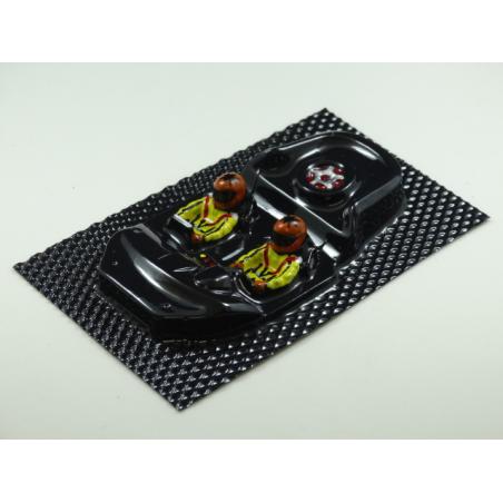 3D SRP 011005/B COCKPIT LEXAN DECORADO ASTOM MARTIN DBR9 BLACK ARROW