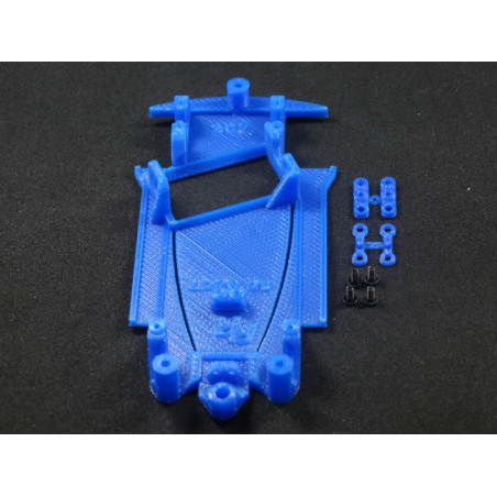 3D SRP RR3D007012/A CHASIS 3D ANGULO PEUGEOT 207 AVANT SLOT (SOFT)