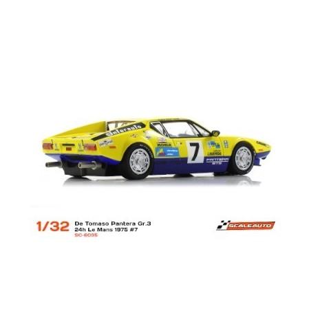 SCALEAUTO SC-6035 DE TOMASO PANTERA GR.3 LEMANS 1975 N7 BEURLYS