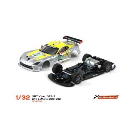 COCHE SLOT SCALEAUTO DODGE VIPER GTS-R 93 24H. LE MANS 2013 HOME SERIES