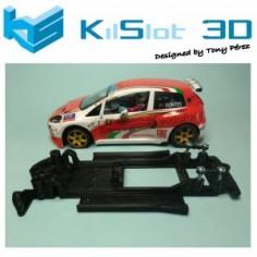 KILSLOT KS-NP2B CHASIS LINEAL BLACK FIAT PUNTO FLY