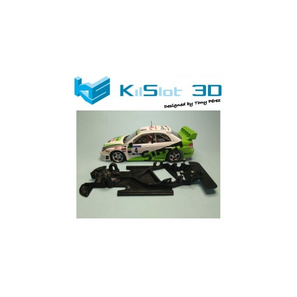 KILSLOT KS-AN88 CHASIS ANGULAR RACE 2018 SUBARU IMPREZA WRC 2006 NINCO