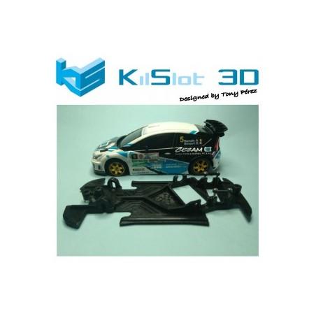 KILSLOT KS-AN48 CHASIS ANGULAR RACE 2018 CITROEN C4 WRC NINCO