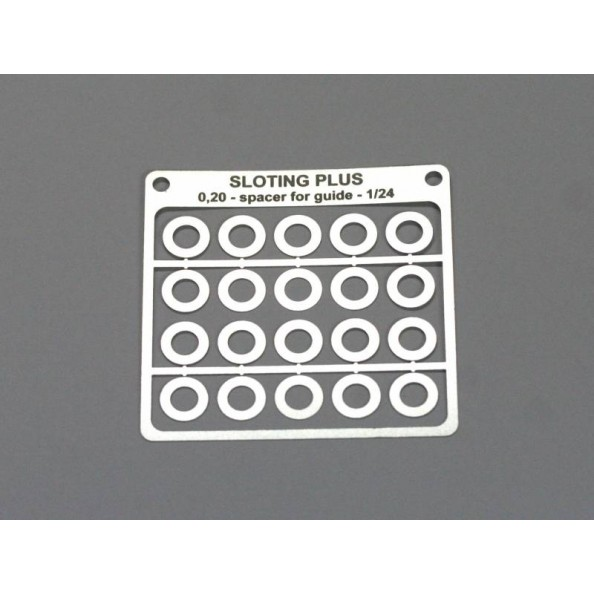 SLOTING PLUS SP069102 SEPARADOR 0,20mm PARA GUIA 1/24 ACERO INOX