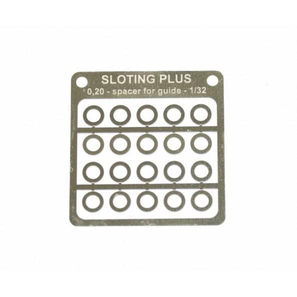 SLOTING PLUS SP069002 SEPARADOR 0,20mm PARA GUIA 1/32 ACERO INOX